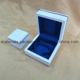 Joyería de madera caja del paquete de joyería al por mayor blanca regia Prue