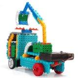 1488723-4 dans 1 les blocs à télécommande du nécessaire RC de bloc de véhicules d'ingénierie placer le jouet créateur 127PCS - couleur d'éducation faite au hasard