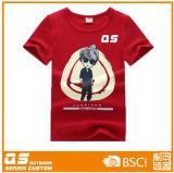 T-shirt de qualité d'enfants de gosses pour des garçons de mode
