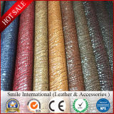 PVC кожаный Stocklot Китая дешевый, искусственная кожа PVC ранг Stocklot для мешка