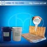 Similar de borracha do silicone de RTV a Oomoo 30 para o molde concreto