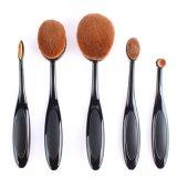 Ensemble de brosse à maquillage en forme de poignée de brosse à dents en forme de dix pièces