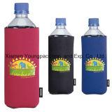 Оптовой выдвиженческой напечатанная таможней втулка охладителя бутылки держателя пива охладителя обеда неопрена может охладители