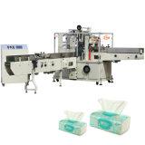 Machine à emballer molle estampée automatique de tissus faciaux