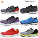 Les chaussures neuves de femmes d'hommes d'espadrille de mode folâtrent les chaussures de course