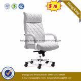 높이 하얀 가죽 뒤 행정상 두목 의자 (HX-K011)
