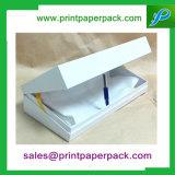Cadre réglé de boîte-cadeau de cadeau cosmétique rigide de luxe fait sur commande de carton