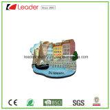 Imanes modificados para requisitos particulares del refrigerador de Polyresin 3D para la decoración del hogar y del recuerdo