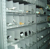 Prateleira clara do armazenamento da folha de metal do dever para peças de automóvel