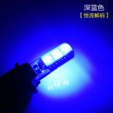 LED T10 5050 쐐기(wedge) 5 SMD 칩 12V 차문 빛 번호판 램프 테일 빛 자동 독서 빛 /Lamp 유형 194/168 W5w