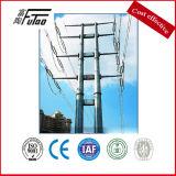 Doppelter Kreisläuf 14m elektrischer achteckiger Pole mit Beleg-Verbindung