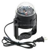 3W RGB magische drehende Fernsteuerungs-LED magische Kugel-Kristalllichter der Kugel-für KTV Weihnachtspartei-Vereinpub-Disco DJ