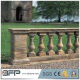 Aste della ringhiera di pietra dell'inferriata del granito del corrimano della balaustra per la decorazione esterna