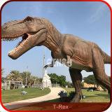 恐竜公園デザインAnimatronicsの屋外の恐竜
