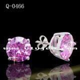 형식 보석 925의 순은 다이아몬드 귀걸이