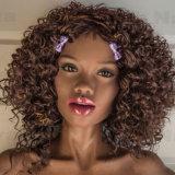 куклы черноты груди 155cm кукла секса девушки черноты кремния малой реалистическая для людей