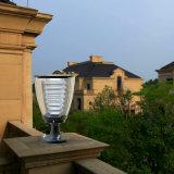 Luz solar del jardín de la luz LED del poste del diseño de la taza