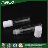10ml 0.33oz löschen Glasmittel-Rolle auf Flasche mit Glaskugel und weißer Schutzkappe