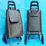 Многофункциональный облегченный, котор катят складной мешок бакалеи багажа покупкы Microfiber материальный
