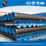 適正価格の黒の波形の排水の管