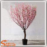 Neue Entwurfs-Seide und künstlicher Kirschblüten-Plastikbaum