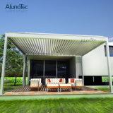 Tampa de Sunshading de telhado motorizado de lâminas automáticas de alumínio