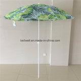 Зонтик пляжа большого предохранения от Sun размера выдвиженческий