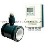 Contador de flujo magnético electromágnetico sanitario para la cerveza, líquido, lechería