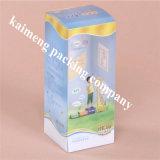 De hete Verkopende Vouwbare Duidelijke Plastic Bewegende Doos van het Pakket voor het Pakket van de Gift met hangt (bewegende doos)