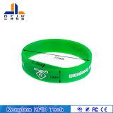 Silicone esperto personalizado do bracelete da identificação para o controle de acesso