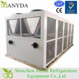 surtidor semihermético refrescado aire del refrigerador de agua del compresor del tornillo 100tr