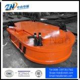 Het Leegmaken van de Vrachtwagen van de Installatie van de kraan Magneet met 6000 het Opheffen Kg van de Capaciteit voor het Gieten van Baar MW61-350220L/1-75