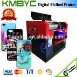 Da caixa plástica do telefone de Digitas do tamanho A3 impressora Flatbed UV