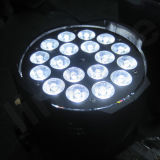Lautes Summen LED NENNWERT Licht des Disco-Stadiums-18X18W Rgbwauv 6in1