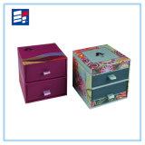 Подгонянная способом бумажная коробка ящика для Storaging