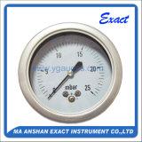 ステンレス鋼の正確に測差動圧力正確に測差動カプセルのゲージ