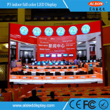 P3 dell'interno ha riparato il quadro comandi del LED dell'installazione per la pubblicità dell'uso