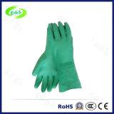 Grüne industrielle chemische beständige Gummihandschuhe