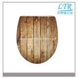 Kundenspezifischer Drucken-Toiletten-Sitzdeckel mit verschiedenen Mustern