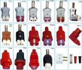 Connecteur haute température pour batterie chauffante