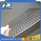 ASTM 201 hoja de acero inoxidable perforada laminada en caliente fría 304 430