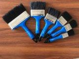 Cepillo de pintura negro de la cerda con el mercado plástico de México de la maneta