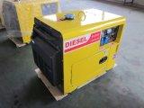 generador silencioso diesel 6kVA con el ATS y los precios teledirigidos