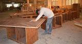 Mobília de madeira do quarto do hotel de recurso da hospitalidade da noz americana