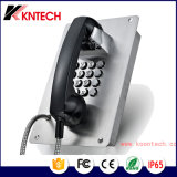 2017 VoIP Phone Intercom System Rugged Phone Elevator Intercom telefone de emergência Knzd-15