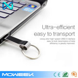 Azionamento istantaneo della penna del USB del USB 2.0 di Pendrive del metallo del bastone caldo del USB