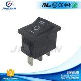 Inverseur à rappel électrique carré de la qualité Kcd1-106 21*15mm d'UL on-off/on-off-on/on-on