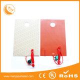 Calefator feito sob encomenda da borracha de silicone dos cobertores de aquecimento do silicone do tamanho