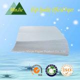 Doble un papel de la oficina del papel de copia de la pulpa de madera 70GSM A4 de la blancura 100-102%