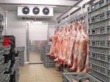 냉장고 고기 거는 동결에서 걷는 고기를 위한 찬 룸